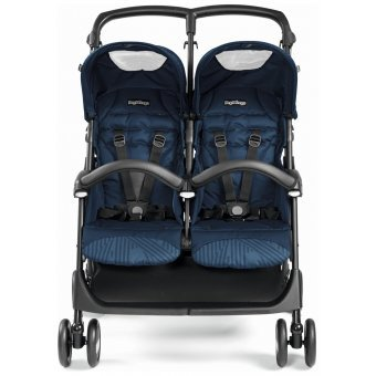 "Peg Perego Количка за близнаци ""Aria Shopper Twin"" Geo Navy"